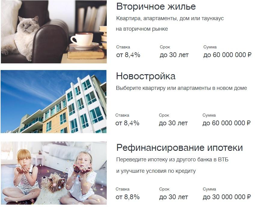 втб заявка на рефинансирование ипотеки онлайн заявка банк ренессанс кредит в краснодаре